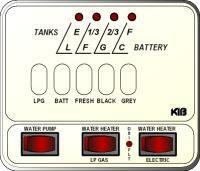 KIB Electronics Monitor Panel Model M24-2HWL Repair / Installation Kits