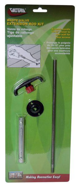 """Valterra Extension Rod Kit for Valterra Waste Valve - Adjustable - 10"""" to 12"""", T1046-10VP"""