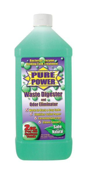 Valterra Pure Power Green Treatment for RV Holding Tanks, Wintergreen Scent