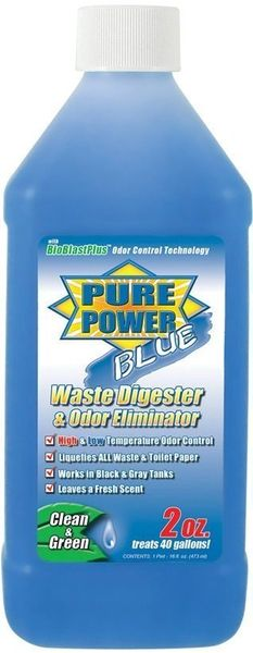 Valterra Pure Power Blue Treatment for RV Holding Tanks, Fresh Clean Scent