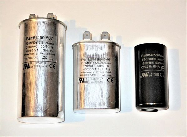 Coleman Air Conditioner Model 6757A703 Capacitor Kit