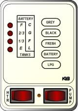 KIB Electronics Monitor Panel Model M24VWL Repair / Installation Kits