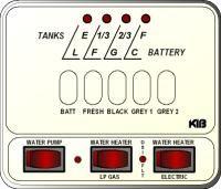 KIB Electronics Monitor Panel Model M25-2HWL Repair / Installation Kits