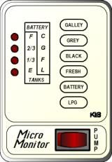 KIB Electronics Monitor Panel Model M29VW Repair / Installation Kits