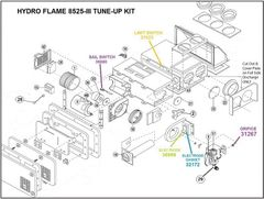 Atwood / HydroFlame Furnace Model 8525-III Tune-Up Kit