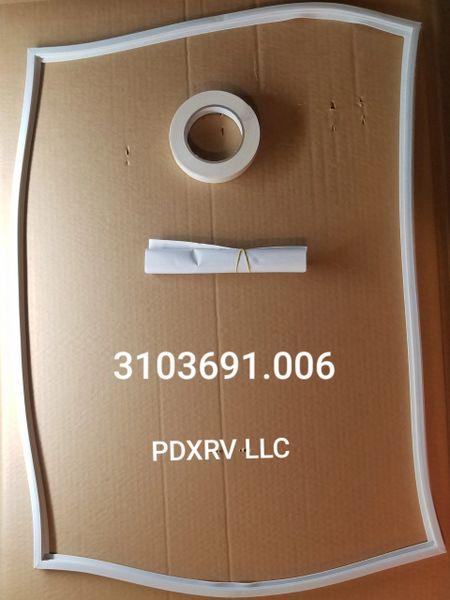 Dometic Refrigerator Door Gasket Kit 3103691.006