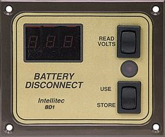 Intellitec Battery Disconnect Panel, BD1, 01-00066-001