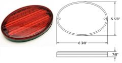 LED TAIL LAMP, 52 LED, L03-0066
