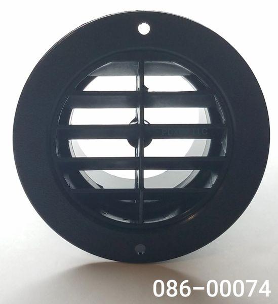 Round Louvered Dash Vent 086-00074