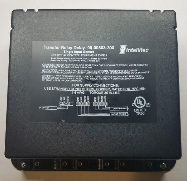 Intellitec Transfer GenSet Single 00-00803-300