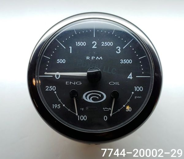 Medallion 3 In 1 Dash Gauge 7744-20002-29