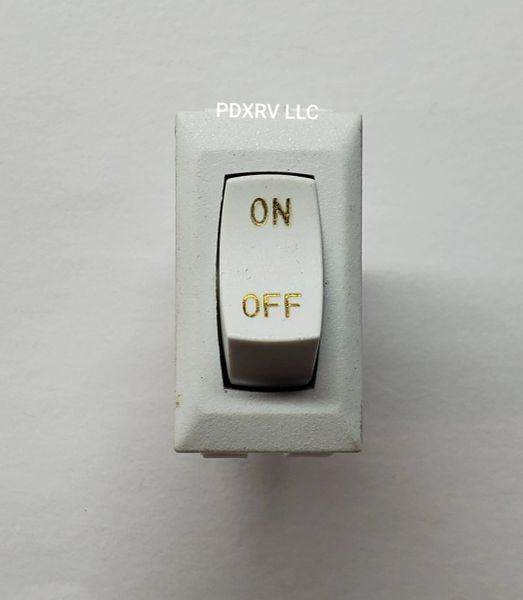 Sanicon Switch, White, On / Off