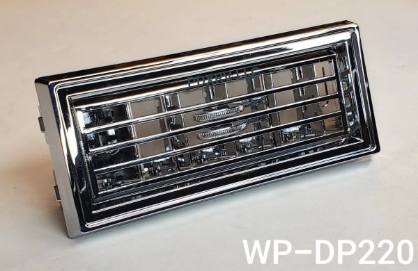 Woody's Chrome Peterbilt Vent, WP-DP220