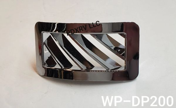 Woody's Chrome Peterbilt Vent, WP-DP200