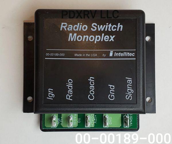 Intellitec Radio Switch Monoplex 00-00189-000