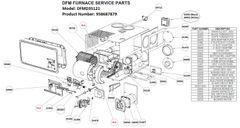 Dometic Furnace Model DFMD35121 Tune-Up Kit