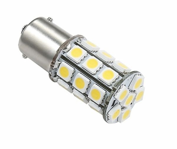 1156 / 1141 LED Bulb, 27 LED's, 250 Lumens, Warm White, 25001V