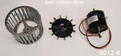 Atwood / HydroFlame Furnace Model 8012-II Blower Motor And Wheel Kit