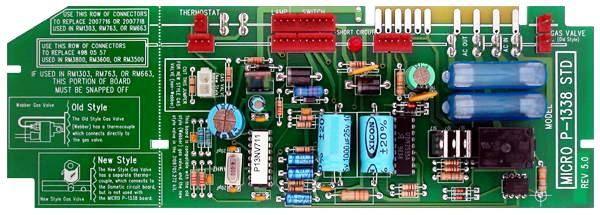 Dometic Refrigerator Control Board, P-1338 REV 5