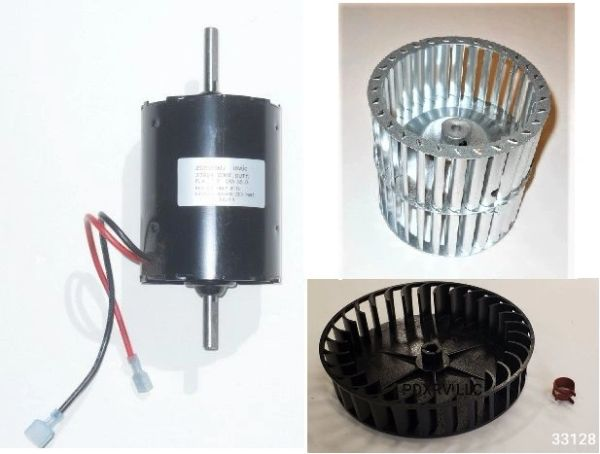 Atwood / HydroFlame Furnace Model 2540 2 STAGE Motor And Blower Wheel Kit