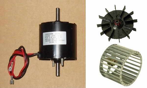 Atwood / HydroFlame FA-7916D Furnace Motor And Blower Wheel Kit