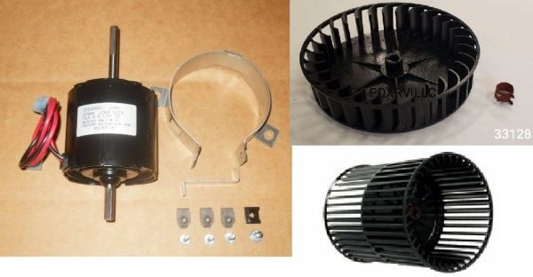 Atwood / HydroFlame Furnace Model 8520-IV Blower Motor And Wheel Kit