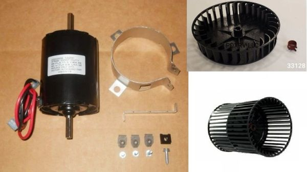 Atwood / HydroFlame Furnace Model 8531-III Blower Motor And Wheel Kit