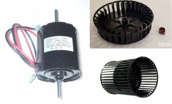 Atwood / HydroFlame Furnace Model 8531-IV Blower Motor And Wheel Kit