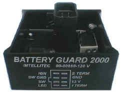 Intellitec Battery Guard 2000 Control Module 00-00660-120