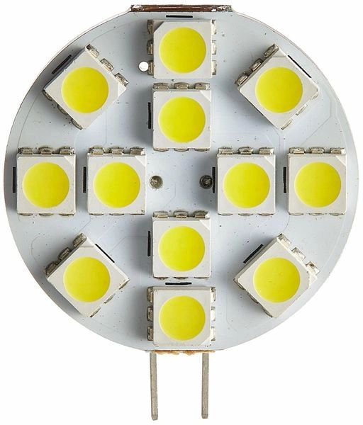 G4 Base 12 LED Bulb, 150 Lumens, Natural White, LB1.5W-W-S