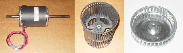 Suburban Furnace Model SF-20Q Blower Motor / Blower Wheel / Combustion Wheel Kits
