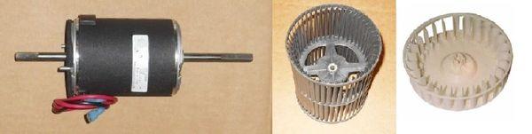 Suburban Furnace Model SF-35FQ Blower Motor / Blower Wheel / Combustion Wheel Kits