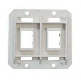 White Double Contoured Switch Assembly Base AH-FLR-2-1