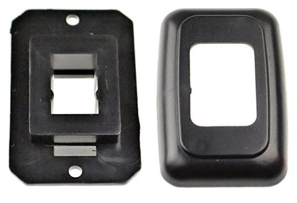 Single Base and Plate Contour Wall Plate Assembly PB3115