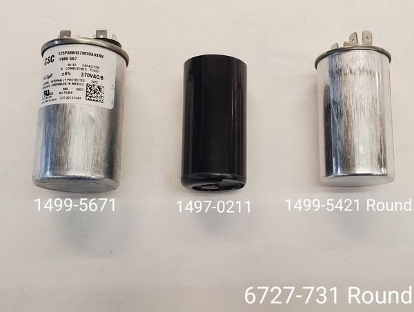 Coleman Air Conditioner Model 6727-731 Capacitor Kits