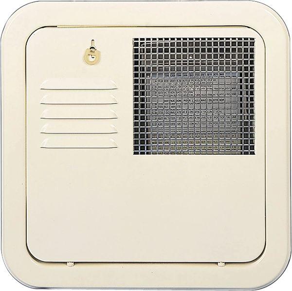 Suburban Water Heater Colonial White Door 6255ACW