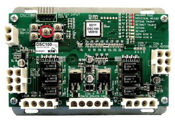 KIB Electronics Dual Slide Room Controller DSC100
