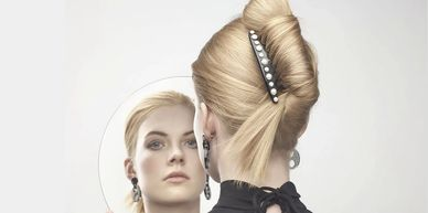 Paris mode hair accessories