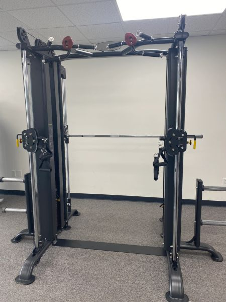 Smith machine multi gym