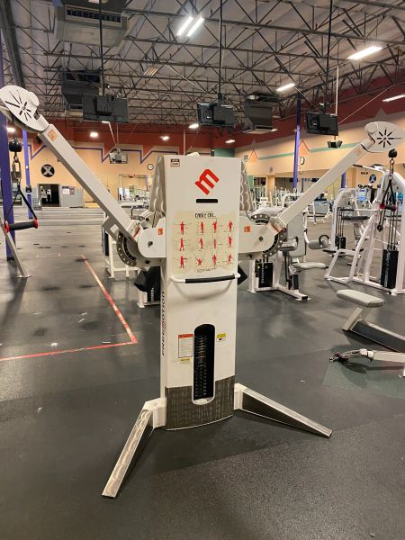 Free motion cable cross functional trainer
