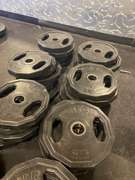 Iron grip Urethane grip plate used