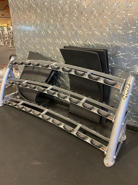 Hoist 3 tier DB rack