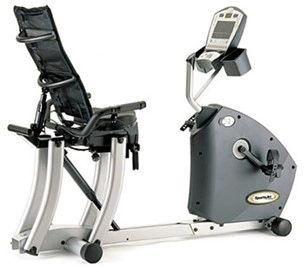 Sports art Recumbent bike