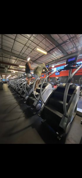 Stair master SM5 Gauntlets touch screen