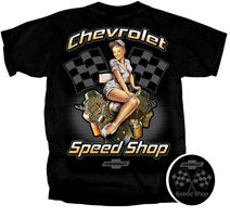 Chevrolet Speed Shop - Tshirt