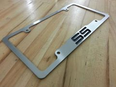 SS S/S License Plate Frame