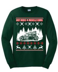 Hotrods Christmas Ugly Sweater