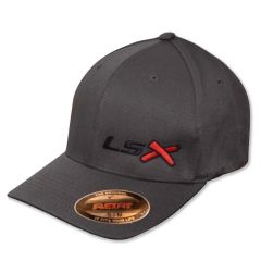 LSX - Flexfit (Charcoal/Black/Red/Black)