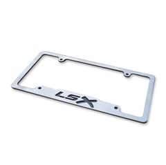 LSX - Stainless License Plate Frame
