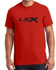 LSX - Black Logo TShirt